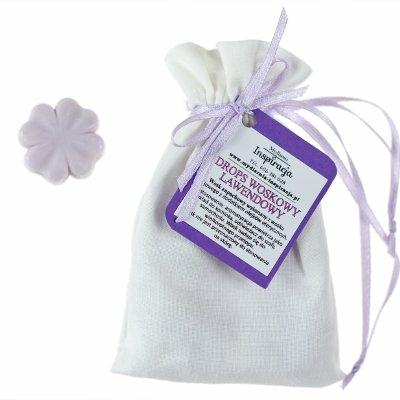 woski zapachowe lawendowe